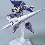 Gundam Tertium (Gunpla) (Action Pose 1)