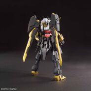 NK-13S Gundam Schwarzritter (Gunpla) (Rear)