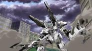Reversible Gundam cannon mode