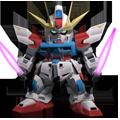 Unit a build strike gundam