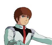 Character Profile Amuro Ray pilot suit