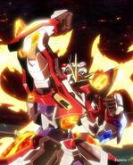 KMK-B01 Kamiki Burning Gundam (Island Wars) 16