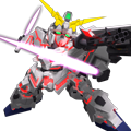 Unit ss unicorn gundam beam gatling guns
