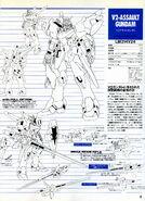 V2 Assault Gundam Lineart