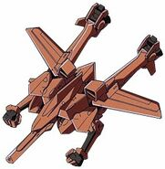 VMS-15 Union Realdo Fighter Mode Taribia