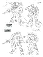 Buster Gundam Early Design