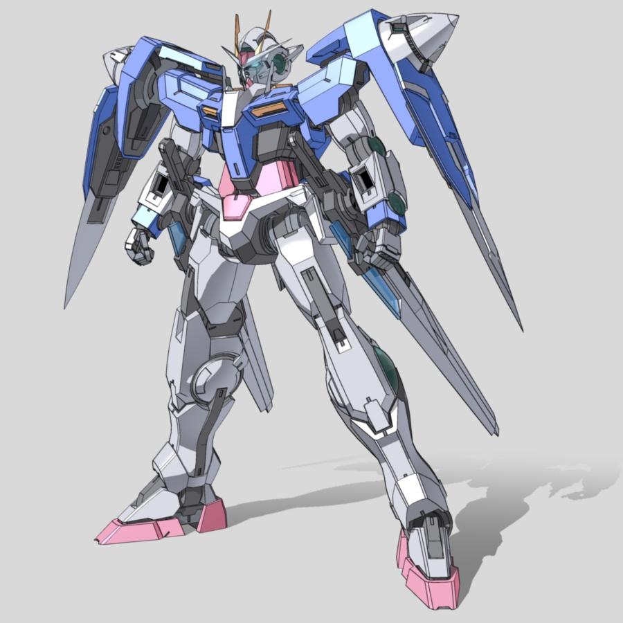 Image - Cel 00 Gundam front.jp...
