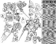 XM-04 Berga Dalas Lineart