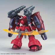 RX-78GP02R天 Gundam GP-Rase-Two-Ten (Gunpla) (Rear)