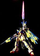 Extreme Gundam Type Leos II Vs by Hidetaka Tenjin