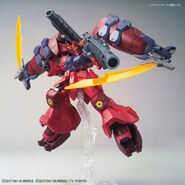 RX-78GP02R天 Gundam GP-Rase-Two-Ten (Gunpla) (Action Pose 3)