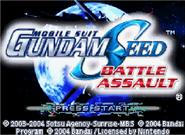 SEED BA GBA Game 1