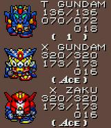 T Gundam X Gundam X Zaku