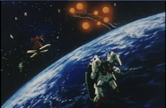 GP01 in G Gundam