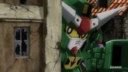 Dagonagel Gundam remote bomb