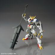 ASW-G-08 Gundam Barbatos Lupus Rex (Gunpla 1-144) (Front With Ultra Large Mace)