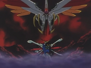 VS Burning Gundam