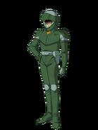 G Gen Genesis Custom Character (Male Neo Zeon Pilot)