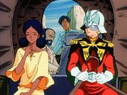 Mobile Suit Gundam Journey to Jaburo PS2 Cutscene 068 Char Lalah 3