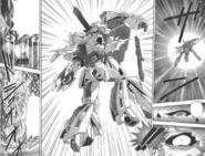 Turn A Gundam Manga Tokita Turn A vs Turn X Final