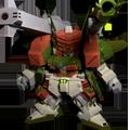 Unit a verde buster gundam
