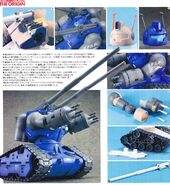 MG RX-75 Guntank Conversion Kit 4