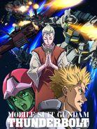 Gundam thunderbolt ona 8 HQ poster