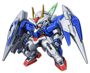 Super Robot Wars Z3 Tengoku Hen Mecha Sprite GN-0000RE+GNR-010 00 Raiser Condenser Type