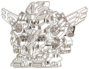 General Gundam (Front)