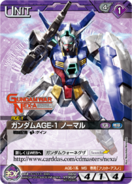 Gundam AGE-1 Normal Carddass 2
