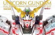 PG Unicorn Gundam Boxart