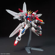 GAT-X105B-GC Build Strike Galaxy Cosmos (Gunpla) (Action Pose 1)