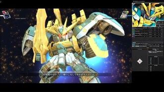 SDガンダム GGENERATION CROSSRAYS ガンダムバーンレプオス Gundam Burn Lapius-0