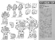 F71 G-Cannon Lineart