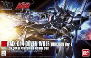HGUC Döven Wolf - Box Art