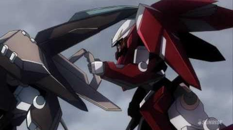 131 GNW-003 Gundam Throne Drei (from Mobile Suit Gundam 00)