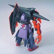 Gundam Seltsam (Gunpla) (Rear)
