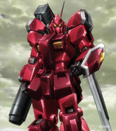 PF-78-3A Gundam Amazing Red Warrior (Ep 12)