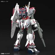 RX-9-C Narrative Gundam C-Packs (Gunpla) (Rear)