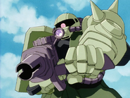 Mobile Suit Gundam Journey to Jaburo PS2 Cutscene 001 Zaku II