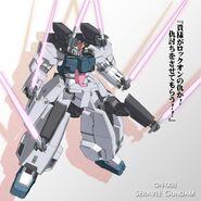 Seravee Gundam Kanji Wallpaper