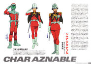 Char Aznable The Origin Infos 1
