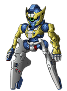 Super Robot Wars X Mack Knife MP