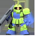 Unit cr zaku i commander