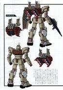 RX-79G Gundam Heads