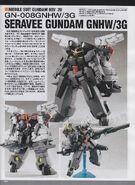 GN-008GNHW3G Seravee Gundam 00V II