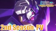 Gundam Build Divers Re RISE 2nd Season Trailer