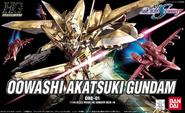 HG Oowashi Akatsuki Gundam Cover