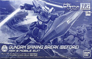 HGBD Gundam Shining Break (Before)