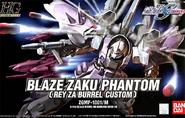 HG Blaze Zaku Warrior (Rey Za Burrel Custom) Cover